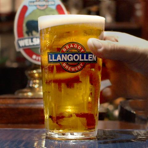 Llangollen Welsh Craft Lager