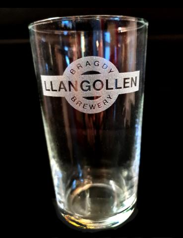 LLangollen Brewery pint glass