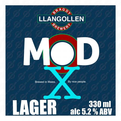 MOD X Welsh Craft Lager