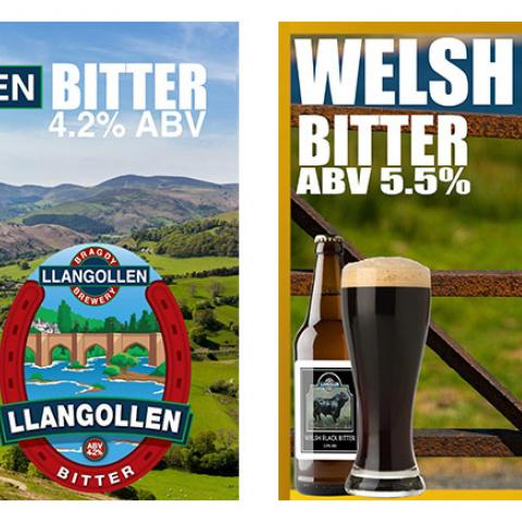 Welsh Black & Llangollen Bitter snack pack